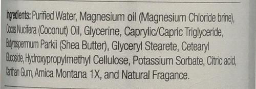 Magnesium Sport Lotion Plus Amica Montana 8 Fl oz 237mL