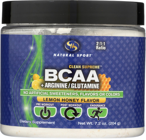 Bcaa, Branch Chain Amino Acids Lemon Honey 7.2oz 204g