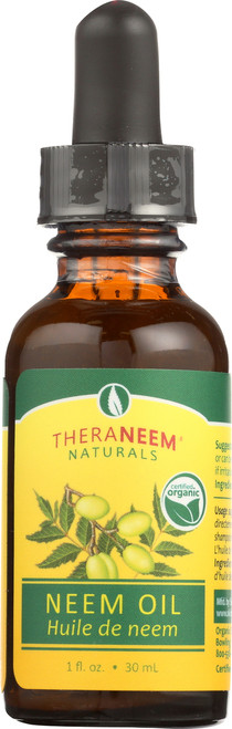 Neem Oil, Pure Cold Pressed 1 Fl oz 30mL