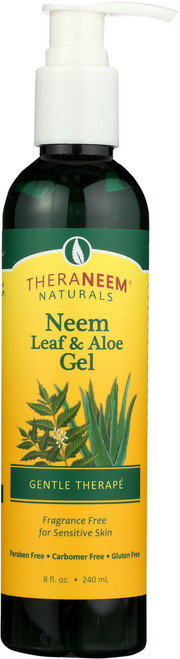 Neem Leaf & Aloe Gel 8 Fl oz 240mL