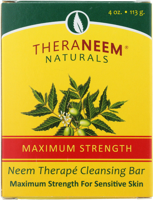 Maximum Strength Neem Oil Cleansing Bar 4oz 113g