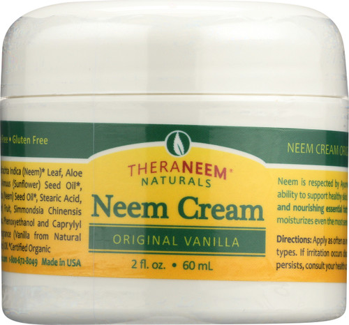 Neem Cream Original Vanilla 2 Fl oz 60mL