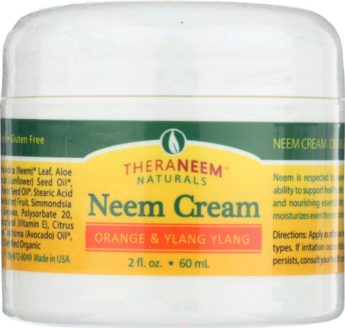 Neem Cream Orange & Ylang Ylang 2 Fl oz 60mL