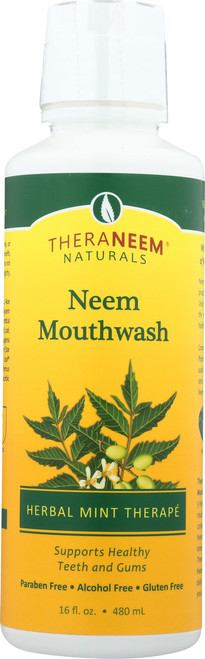 Neem Mouthwash Mint 16 Fl oz 480mL