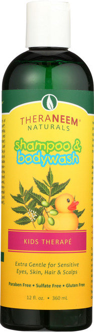 Kids Therape Shampoo/Bodywash 12 Fl oz 360mL