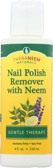 Nail Polish Remover With Neem 4 Fl oz 118mL