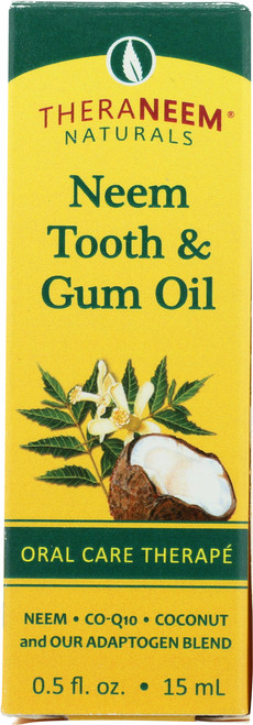 Neem Tooth & Gum Oil 0.5 Fl oz 15mL