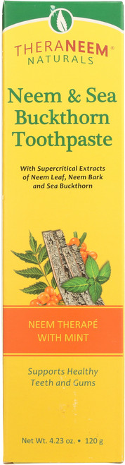 Neem & Sea Buckthorn Toothpaste 4.23oz 120g