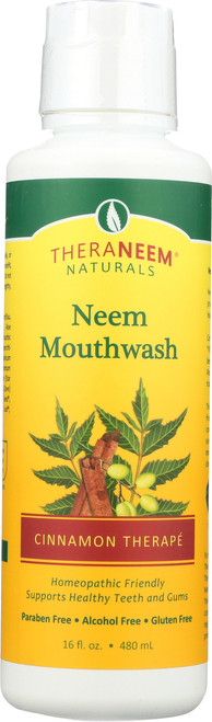 Neem Mouthwash Cinnamon 16 Fl oz 480mL