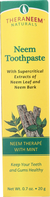 Neem Toothpaste Travel Size Mint 0.7oz 20g