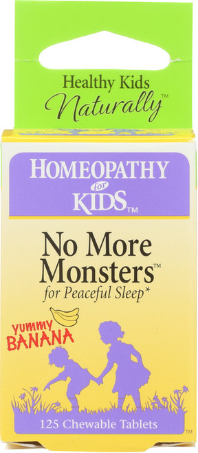 No More Monsters Banana 125 Chewable Tablets
