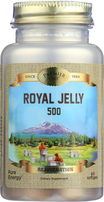 Royal Jelly-500mg 60 Softgels