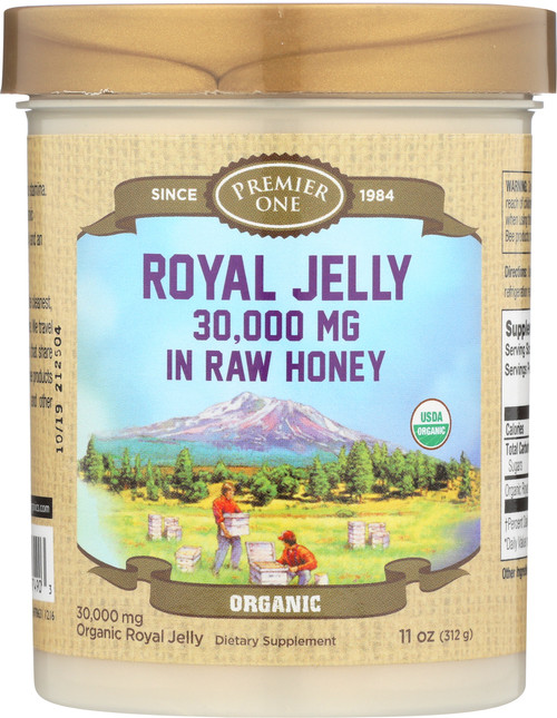 Royal Jelly In Raw Honey, Organic 11oz 312g