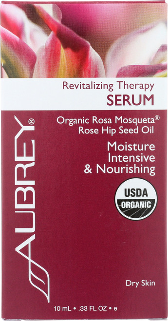 Revitalizing Therapy Serum Organic Rosa Mosqueta® Rose Hip Seed Oil 10mL 0.33 Fl oz
