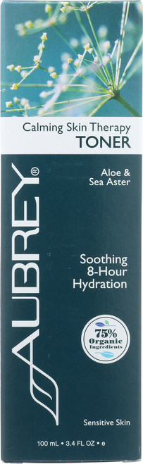 Calming Skin Therapy Toner Aloe & Sea Aster Soothing 8-Hour Hydration 100mL 3.4 Fl oz
