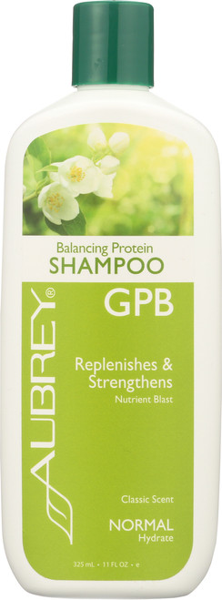 GPB Shampoo Classic Scent Replenishes & Strengthens 325mL 11 Fl oz