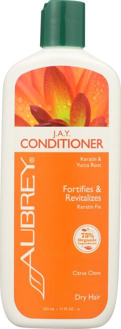 J.A.Y. Conditioner Keratin & Yucca Root Dry Hair 325mL 11 Fl oz