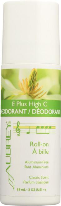 E Plus High C Deodorant Roll-On 89mL 3oz