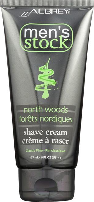 North Woods Shave Cream 177mL 6 Fl oz