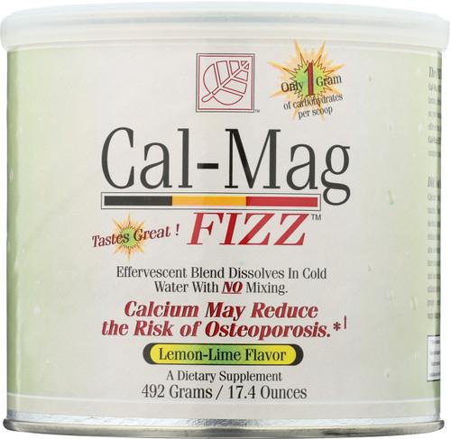 Cal-Mag Fizz Lemon Lime Lemon Lime 492 Grams 17.4 Ounces