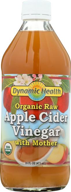 Apple Cider Vinegar W Mother Certified Organic 16 Fl oz 473mL