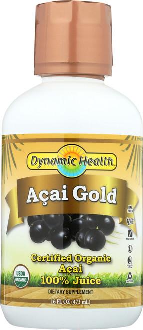 Acai Gold Certified Organic 16 Fl oz 473mL