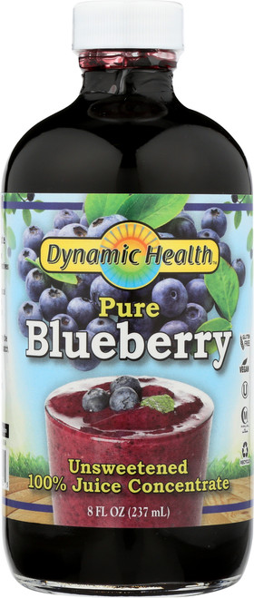Blueberry Concentrate Glass 100% Pure 8 Fl oz 237mL