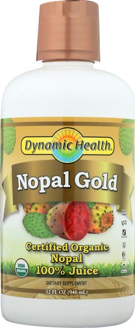 Nopal Gold Certified Organic 32 Fl oz 946mL