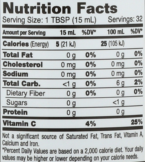 Ginger Juice Certified Organic 16 Fl oz 1 Pint 473mL