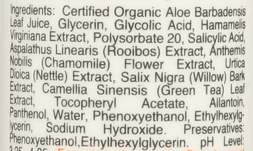 Rooibos Tea Glycolic Clarifying Toner 4oz