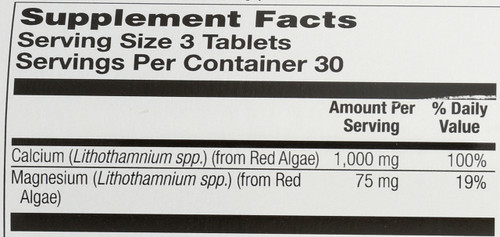 Calcium, Red Marine 90 Tablet