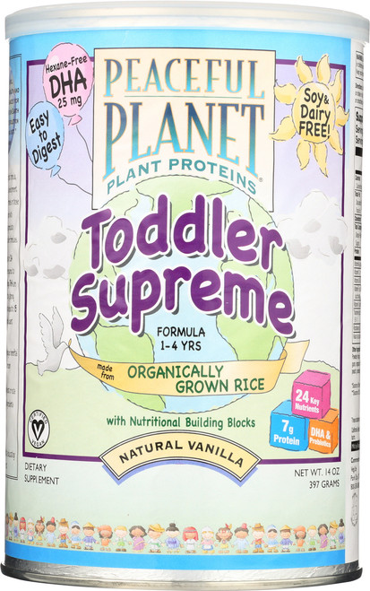 Toddler Supreme Rice Protein Vanilla 14oz 397g