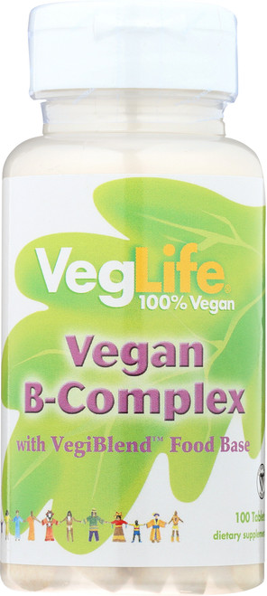 Vitamin B-Complex, Vegan 100 Tablet