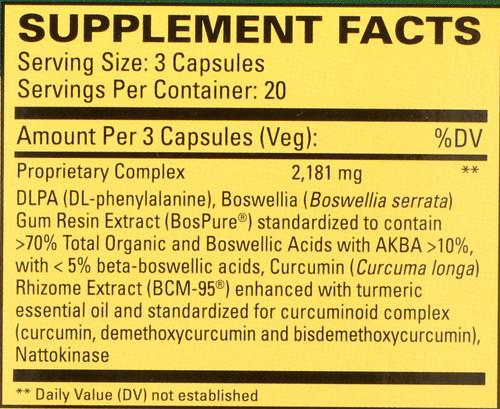 Curamin® 60 Capsules