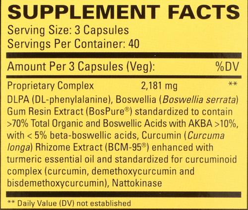 Curamin® 120 Capsules