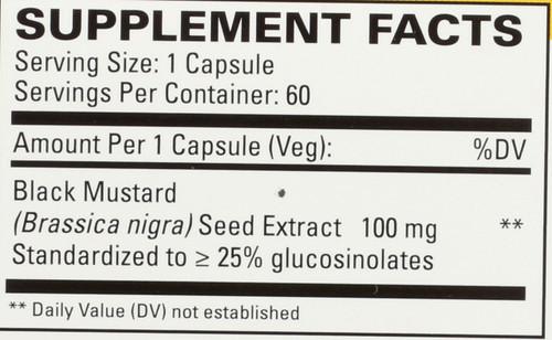 Black Mustard Seed 60 Capsules