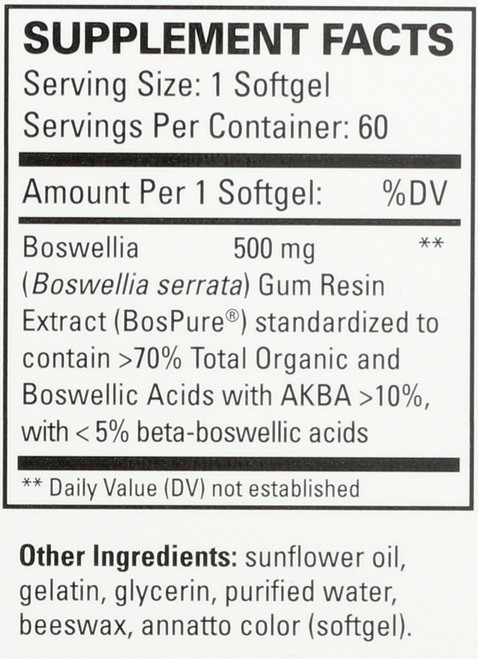 Bosmed 500® Extra Strength 60 Softgels