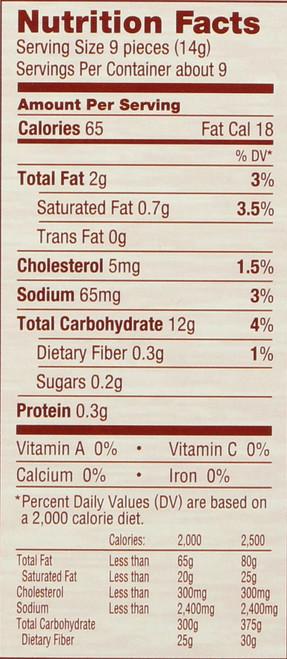 Crackers,Original  4.4 Ounce 125 Gram