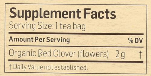 Tea Red Clover 24 Each 1.69 Ounce