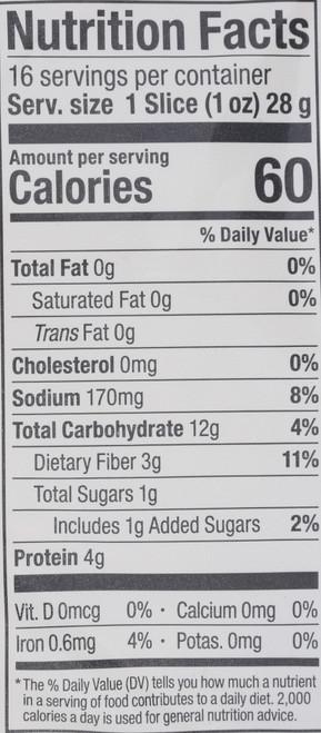 Sprouted 7-Grain Bread 16Oz 7 Grain 16 Ounce 454 Gram