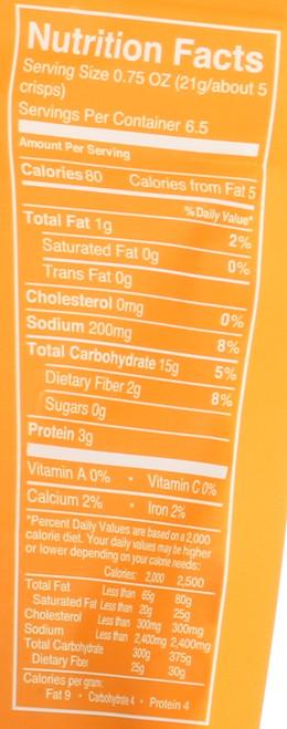 Bread Crisps 7 Grain With Sea Salt 5 Ounce 141.8 Gram