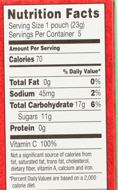 Bunny Fruit Snacks Summer Strawberry 5 Count 4 Ounce