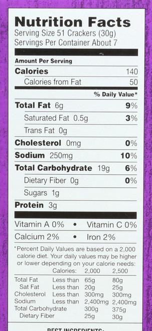 Crackers Cheddar Bunnies 7.5 Ounce 213 Gram
