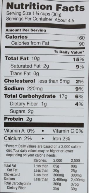 Cheesy Puffs Cheddar 4 Ounce 113 Gram