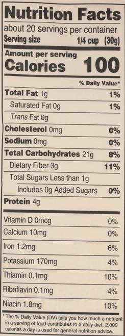 Flour Organic Gluten Free Buckwheat Flour 22 Ounce 623 Gram