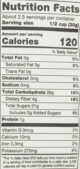 Organic Chips Cinnamon Banana 2.7 Ounce 77 Gram