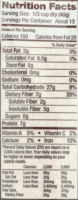 Cereals Brm Oat Bran 18 Ounce 510 Gram