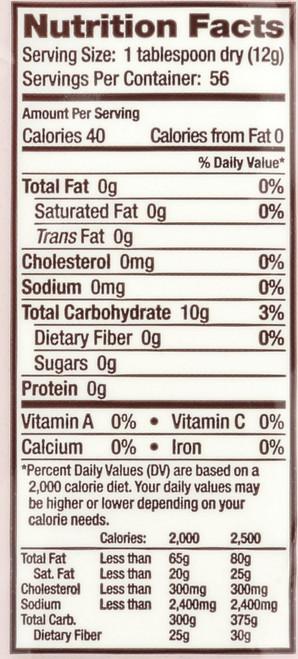 Baking Aids Brm Potato Starch 24 Ounce 680 Gram