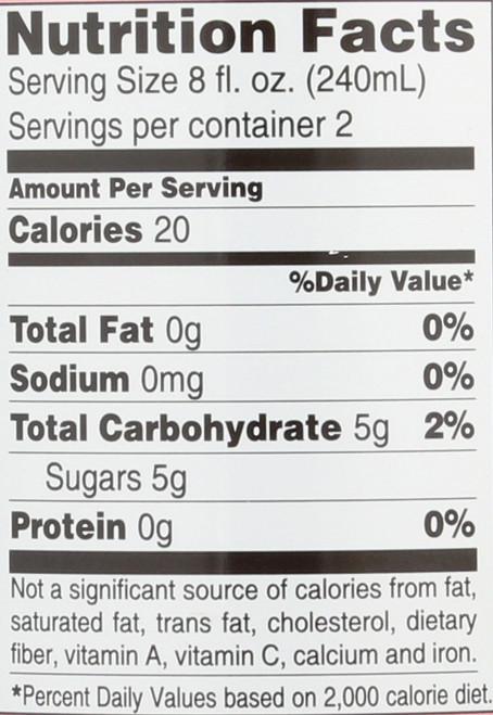 Apple Cider Vinegar Drink Pomegranate - Goji Berry 16 Fl Oz  473 Milliliter