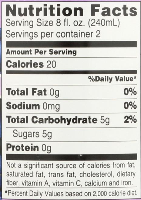 Drink Apple Cider Vinegar Concord Grape - Acaí 16 Fluid Ounce 473 Milliliter